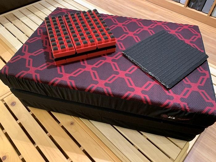 西川のエアーSX三つ折りタイプーエアーサイクロン内蔵タイプ 硬さ:レギュラー