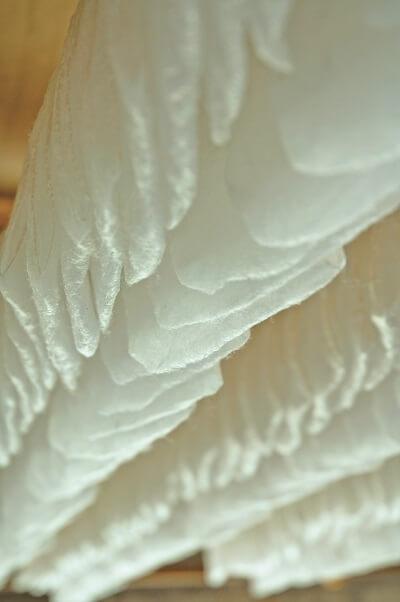 真綿加工工程(真綿乾燥)