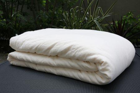 半ざむオリジナルひとえガーゼ真綿ふとん 1.5kgタイプ 日本製(大阪)